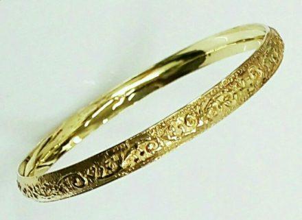 צמיד זהב מרוקאי